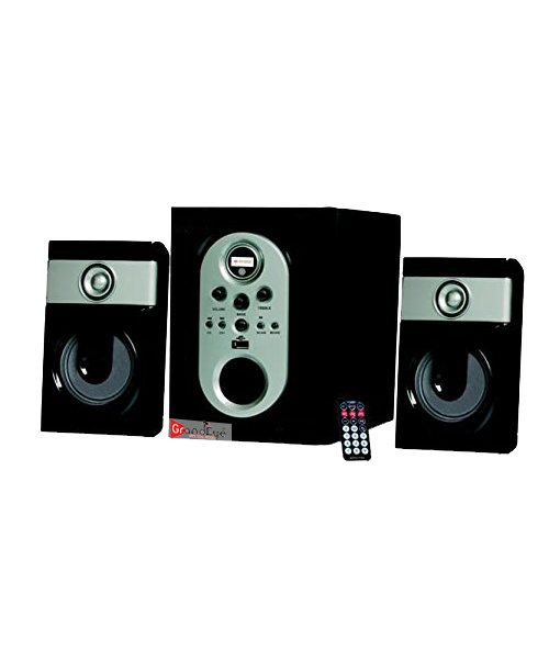 2.1 speakers with 4 inch sub woofer for Deep Bass