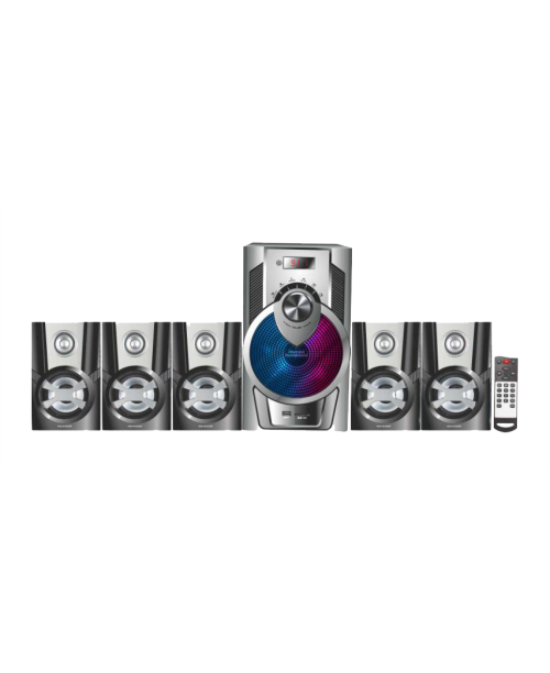 5.1 speakers with 5.25 sub woofer for Deep Bass